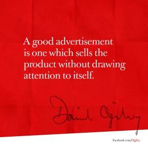 David Ogilvy Annuncio 1
