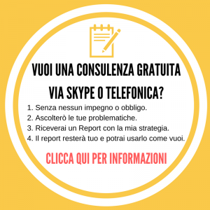 Consulenza dI marketing gratis
